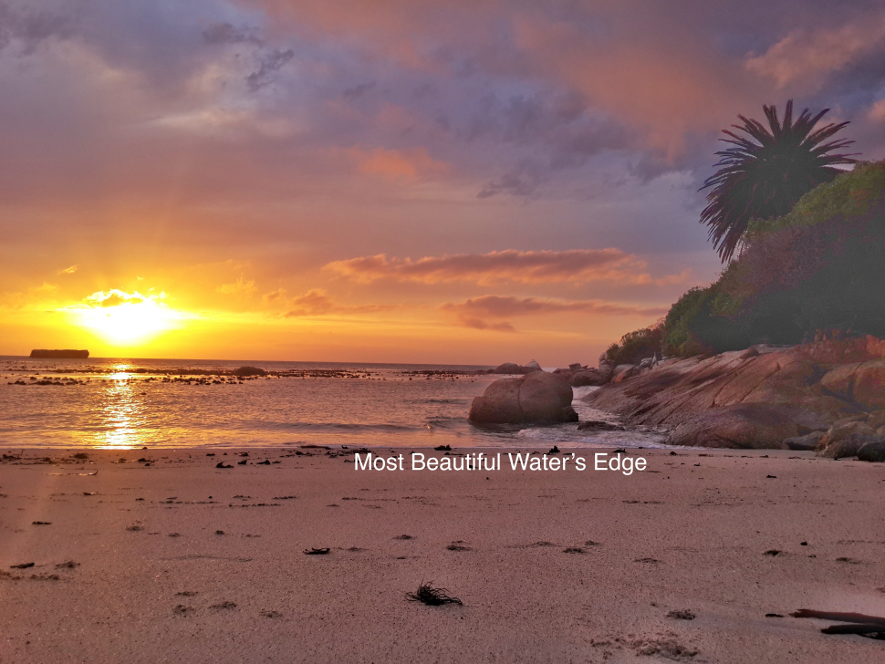 Things to do In Simonstown Waters Edge Beach at sunrise