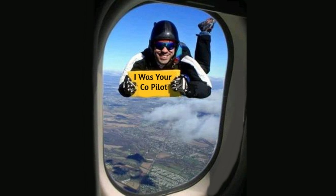 Covid-19 Flight From Hell Pilot Is Outside Of plane