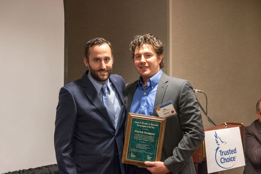 Patrick Dempsey Is The 2015 Recipient Of The James O Herrick Memorial Young Agent Of The Year Award