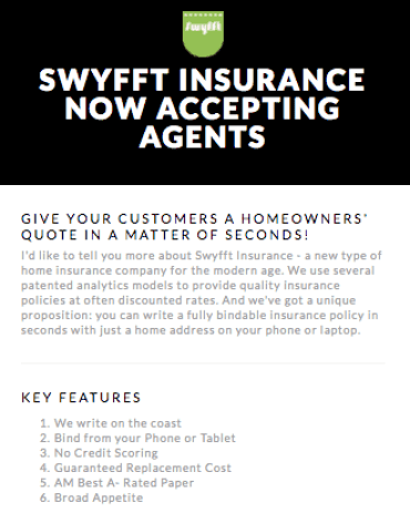 Homeowners Insurance Company >> Swyfft Ly Quoting Homeowners Insurance In Seconds For Independent