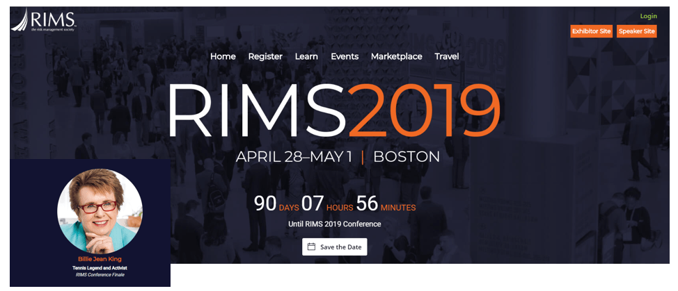 Massachusetts insurance news, RIMS Annual Conferenc