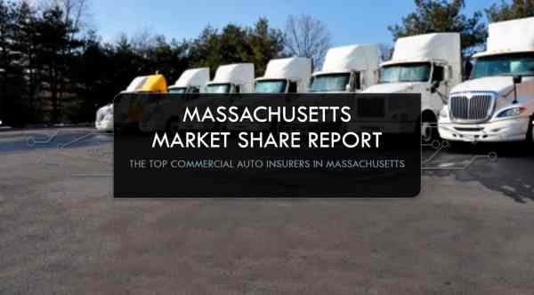 The largest commercial auto insurers in Massachusetts