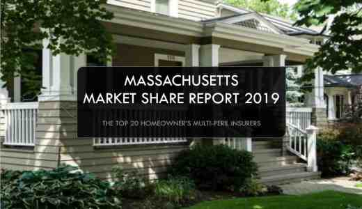 Top Homeowner's Multi-Peril Insurers in Massachusetts, Who writes the most homeowner's in Massachusetts
