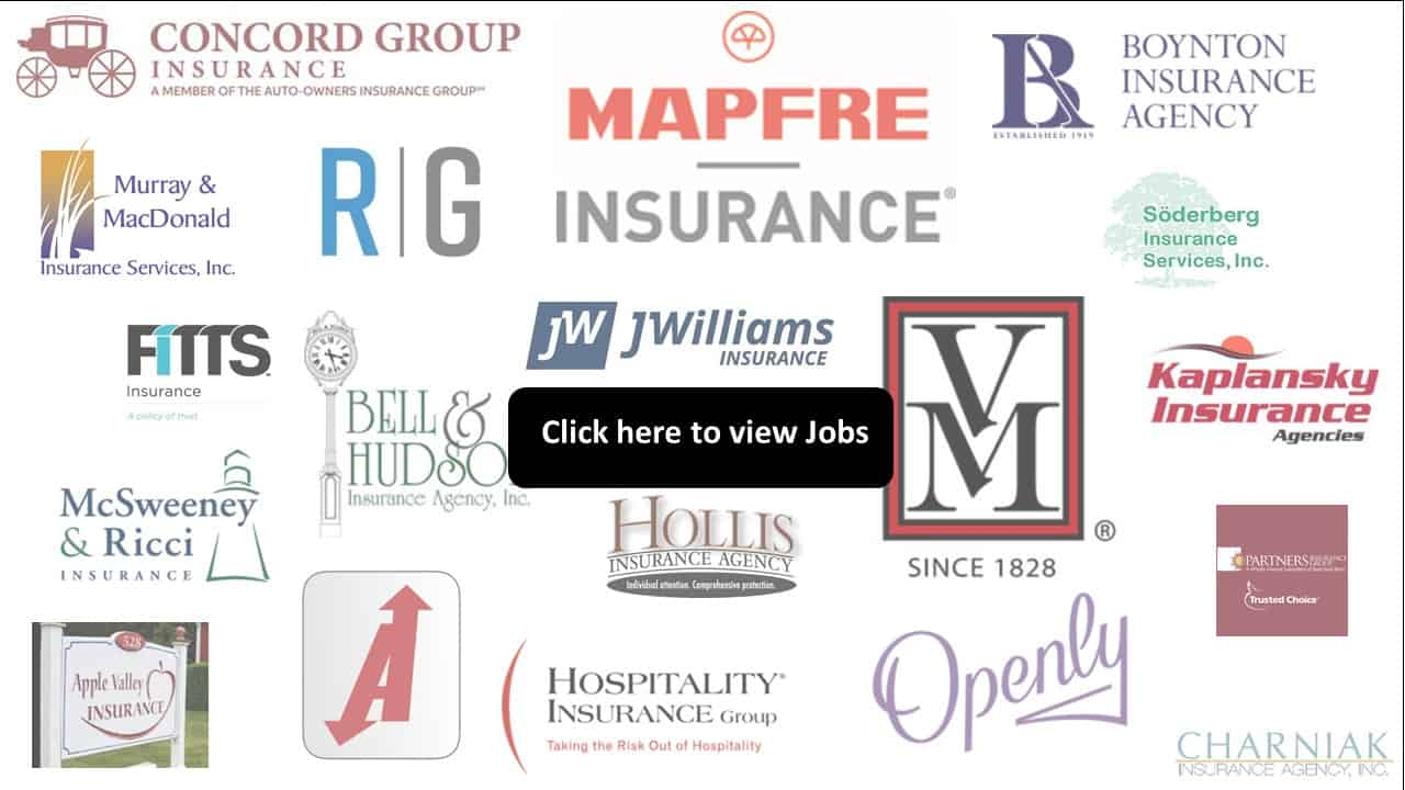 insurance jobs | Massachusetts, insurance jobs | New England