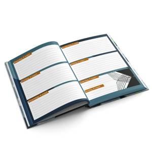 Agenda A5 hardcover liggend drukken