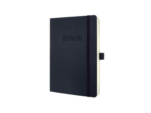 Sigel Conceptum A5 Weekagenda 2020 Zwart Softcover (18 maanden)