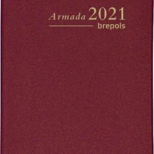 Brepols agenda Armada Seta 4-talig, 2021, bordeaux