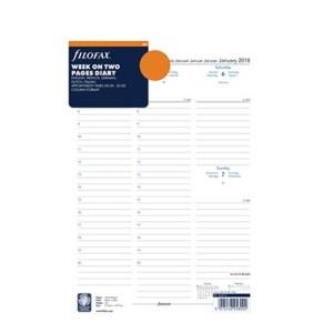 Filofax jaarinhoud 2021 - a4 (week, meertalig, wit)