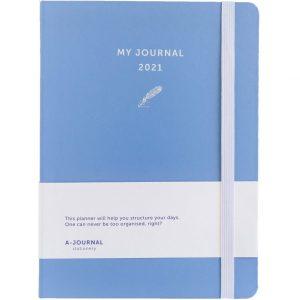 My Journal Jaaragenda 2021 - Lavendel blauw
