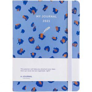 My Journal Jaaragenda 2021 - Luipaard print