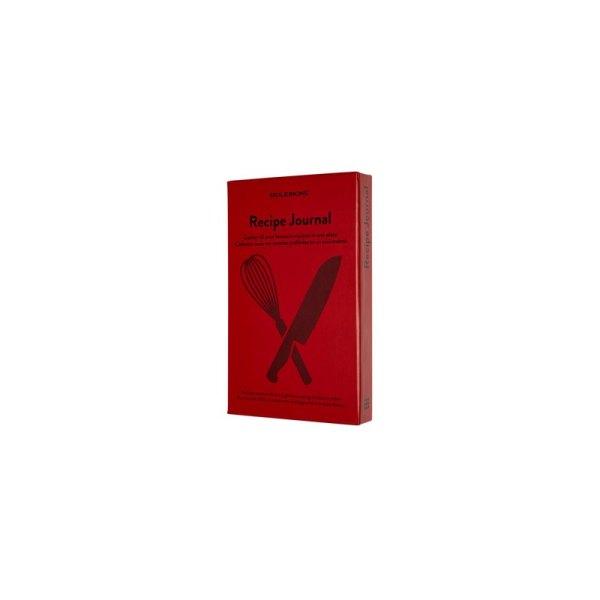 Notitieboek Moleskine Passion journal recepten rood