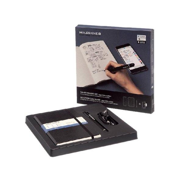 Smart writing set Moleskine zwart