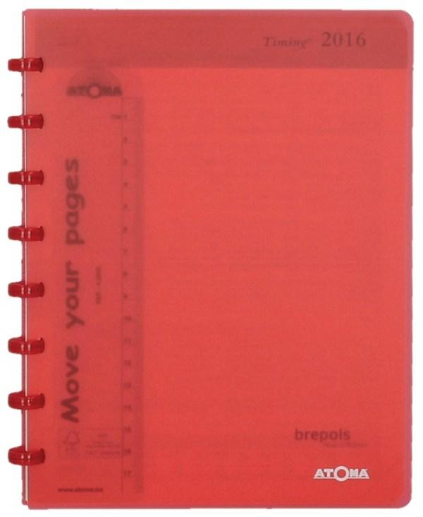 Atoma agenda ft A5, crèmekleurig papier, 144 pagina's 2021