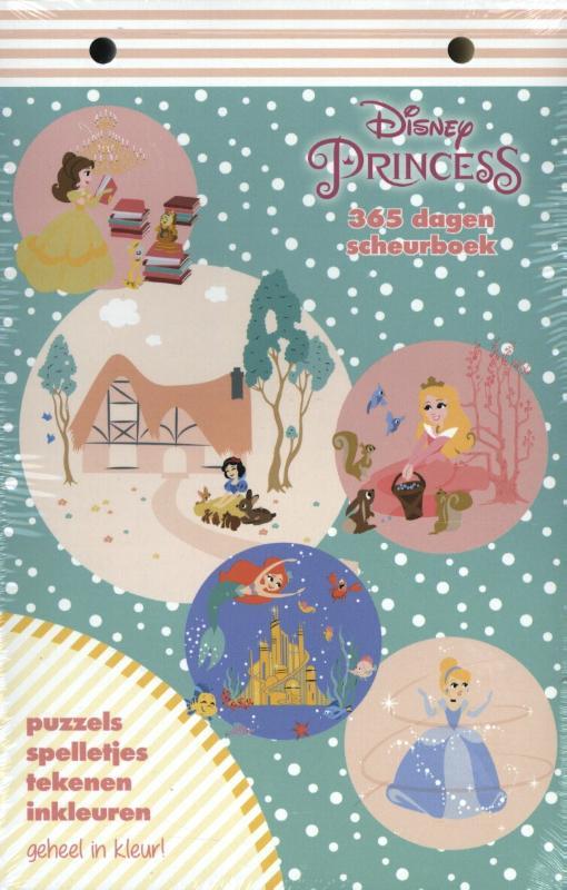 Disney Princess scheurboek
