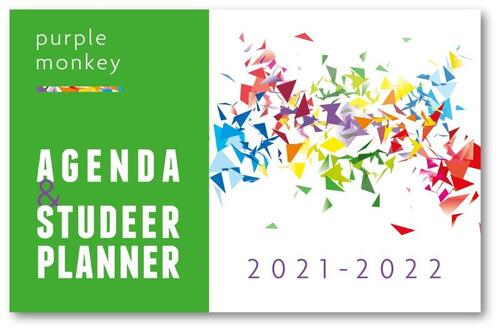 Purple Monkey Agenda en Studeerplanner