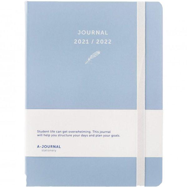 A-Journal Schoolagenda 2021/2022 - Lavendel blauw