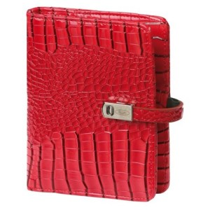 Agenda 2021-2022 organizer Kalpa Pocket Junior gloss-croco rood