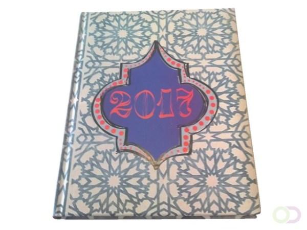 Agenda 2021 Ryam Studio blauw/ roze ass
