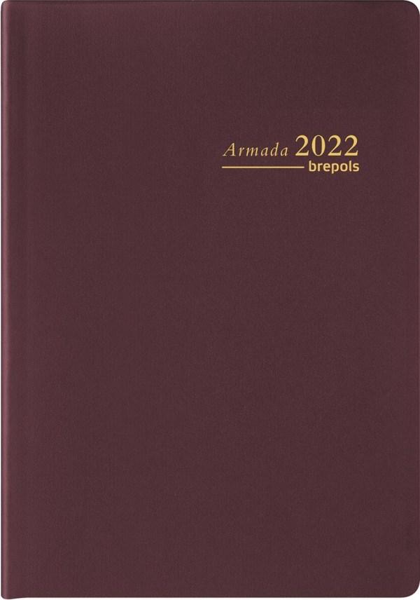 Brepols agenda Armada Seta 4-talig, bordeaux, 2022