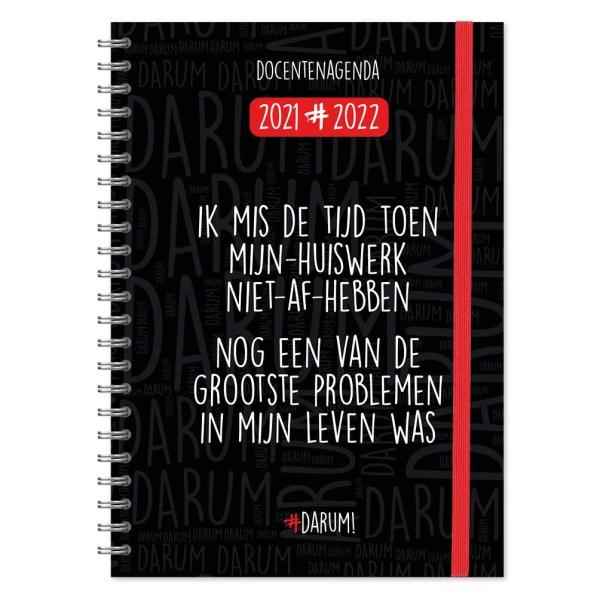Darum Docentenagenda 2021/2022 A4