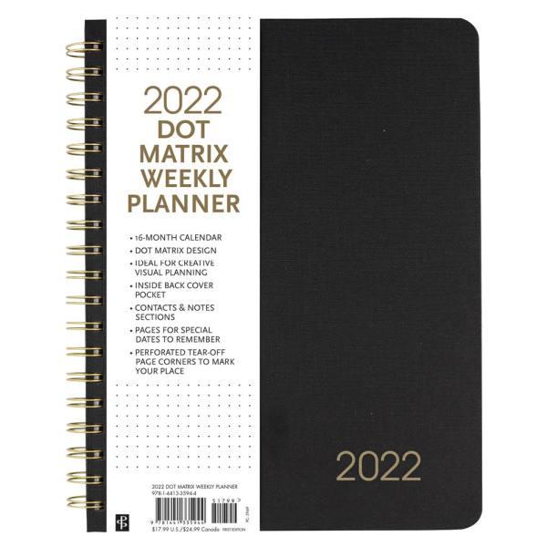 Peter Pauper 16 maanden agenda 2021-2022 - Dot Matrix