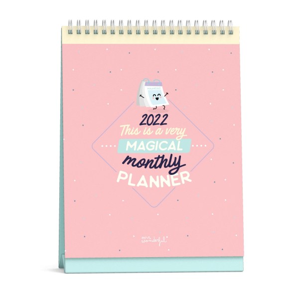 Mr. Wonderful Desk Maandplanner 2022