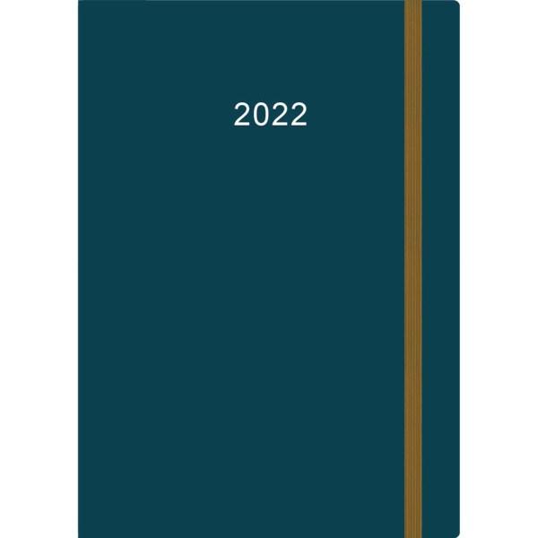 Thuiswerkagenda 2022 A5 Blauw