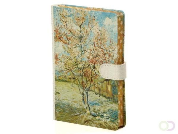 Notitieboek Van Gogh 190x130mm lijn crème