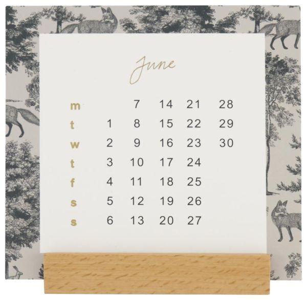 HEMA Bureaukalender 2021 - 10.7x10.7