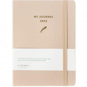 My A-Journal Jaaragenda 2022 - Beige