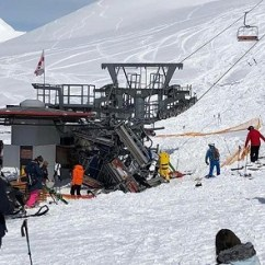 Ski Chair Lift Malfunction French Throne Updated Accident In Gudauri Leaves 11 With Minor Injuries