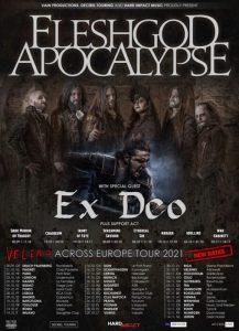 Fleshgod Apocalypse Ex Deo - Hard Club Porto