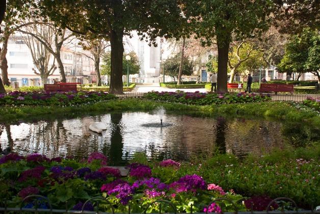 O mais antigo jardim do PortoJardim de S. Lázaro