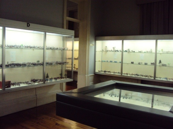 Museu Militar do Porto - Sala das Miniaturas (Soldadinhos)