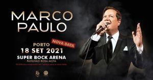 MARCO PAULO - Super Bock Arena - Pav. Rosa Mota