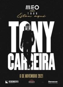 TONY CARREIRA ESTOU AQUI no Super Bock Arena