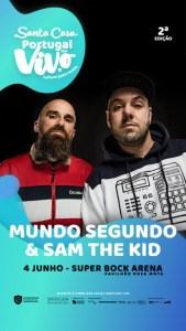 Mundo Segundo & Sam The Kid Super Bock Arena Pavilhão Rosa Mota