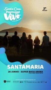Santamaria – Santa Casa Portugal ao Vivo - Super Bock Arena Pavilhão Rosa Mota