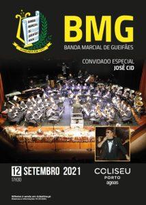 José Cid e BMG no Coliseu do Porto