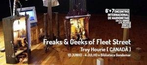Freaks & Geeks of Fleet Street EXPOSIÇÃO