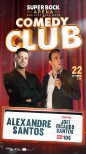 Comedy Club – Alexandre Santos e Joel Ricardo Santos
