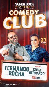 Comedy Club – Fernando Rocha e Sofia Bernardo