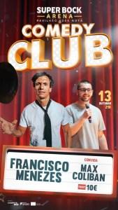 Comedy Club – Francisco Menezes e Max Coliban
