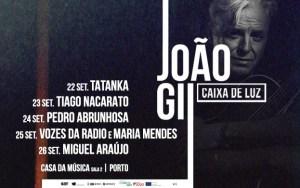 JOÃO GIL CAIXA DE LUZ na Casa da Música