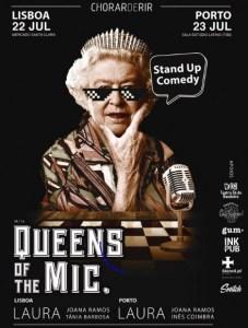 Queen of mic teatro sá da bandeira