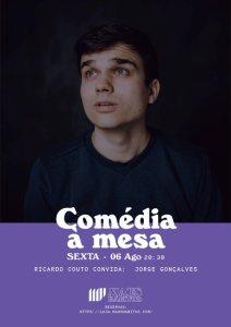 Comédia à Mesa Ricardo Couto + Jorge Gonçalves