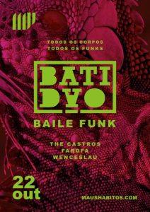 Batidão Baile Funk no Maus Hábitos