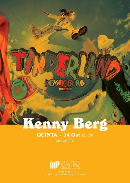 Kenny Berg no Maus Habitos