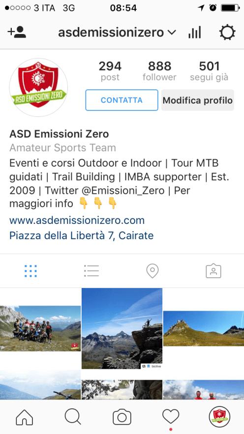 """La nuova """"faccia"""" del nostro profilo aziendale Instagram"""