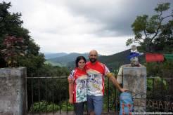 Io e Claudia una volta raggiunta Namobuddha da Patan a piedi